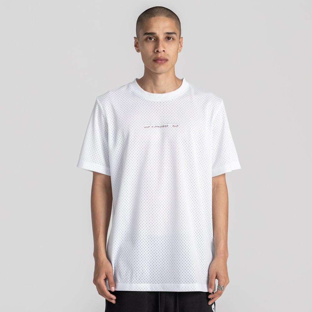 Ascend Mesh Tee / WHITE