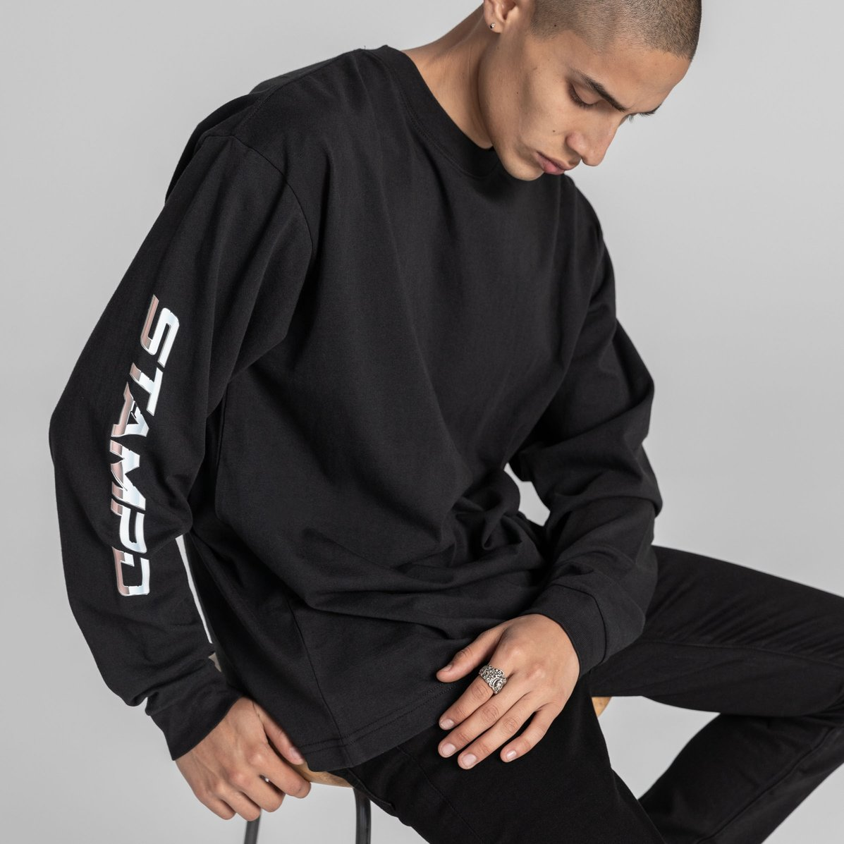 Sebring Long Sleeve / BLACK